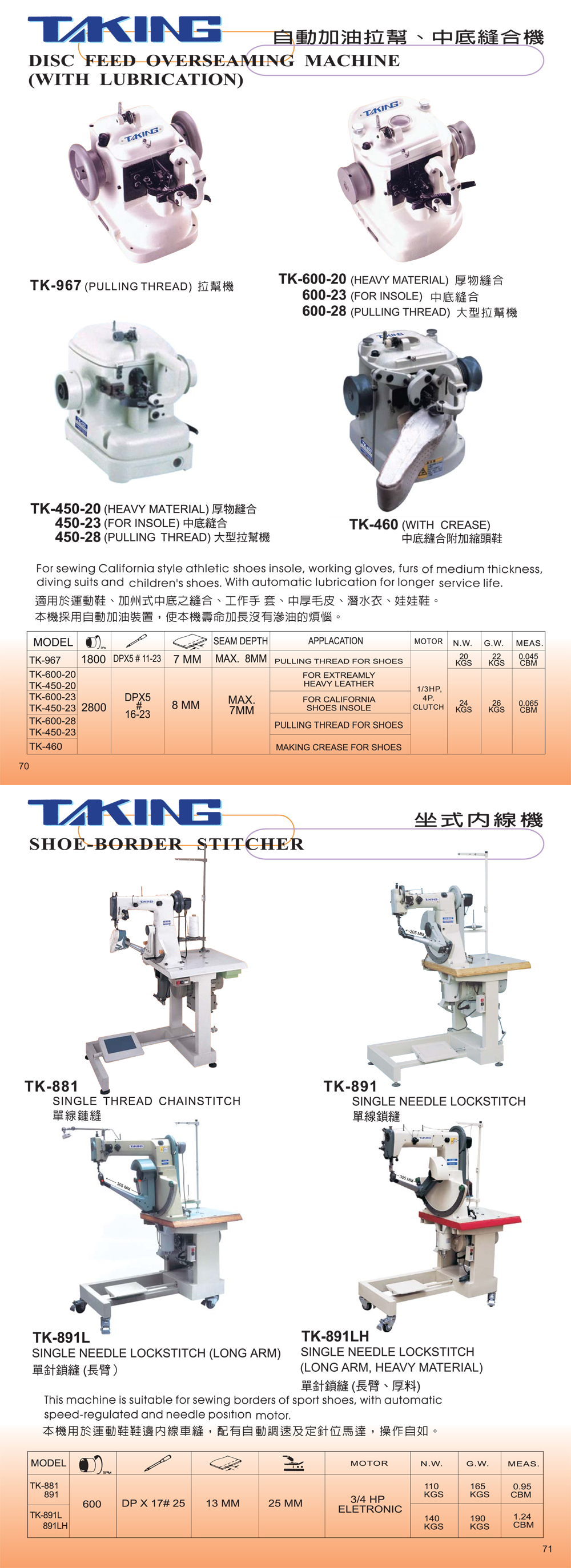Overseaming Machine/Shoe-border stitcher